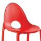 DROP CHAIR - chaise en polypropylène (lot de 4)