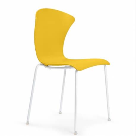 GLOSSY - chaise en polycarbonate (lot de 2)