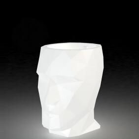 ADAN - jardinière LED blanche