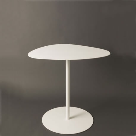 GALET - table bistrot 58 x 75 cm