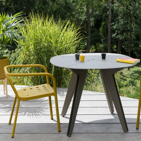 LOOM - table ronde ø100 cm