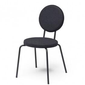 OPTION - chaise dossier et assise ronds
