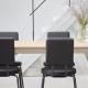 OPTION - chaise dossier et assise carrés