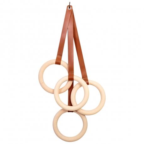 OLYMPIC - patère 4 anneaux