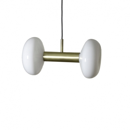GAMBI II - suspension double laiton