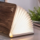 SMART BOOKLIGHT - lampe noyer 21 cm