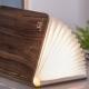 MINI SMART BOOKLIGHT - lampe noyer 12.5 cm