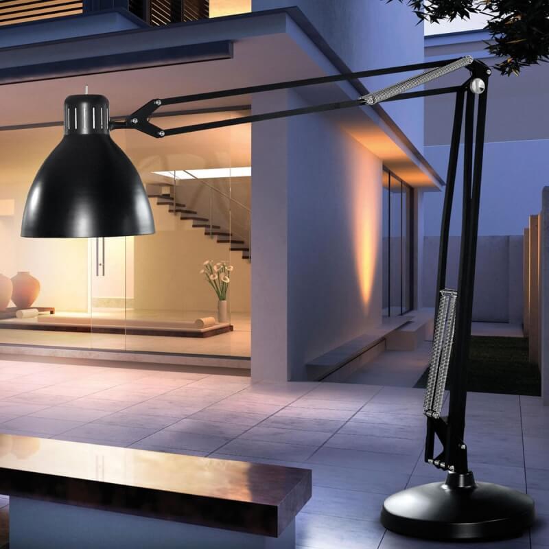 the great jj tr lampadaire exterieur 4m20 de leucos