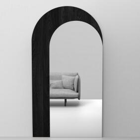 BUZZIMIRAGE - miroir trompe l'oeil H225 cm