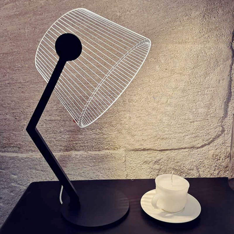 ZIGGI noire Studio Cheha leds à lampe de OkXiTZuwPl