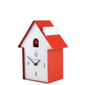 MERIDIANA - horloge rouge