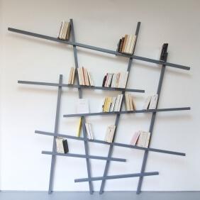 MIKADO - étagère 220 x 215 cm laquée