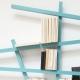 MIKADO - étagère 185 x 100 cm laquée