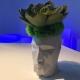 ADAN - jardinière H 100 cm