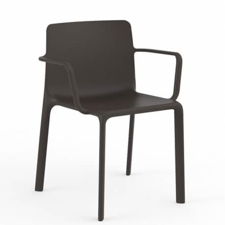 KES - chaise à accoudoirs (lot de 4)