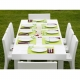 JUT - table de jardin 180 x 90 cm