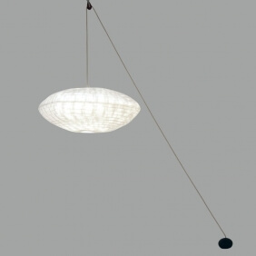 CUMULUS POULIE - suspension 80 x 60 cm