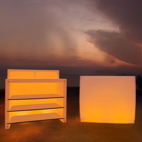 FIESTA BARRA - bar lumineux 1m20 LED