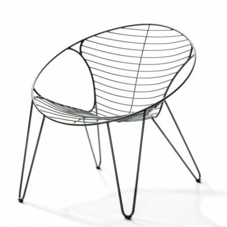WIRE - fauteuil lounge