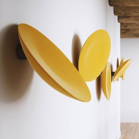 BUZZIDISH - élément mural rotatif acoustique