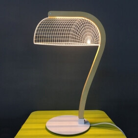 BANKI - lampe led effet 3D