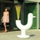 PEACOCK - jardinière H150 cm