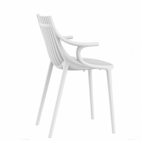 IBIZA - chaise à accoudoirs plastique Revolution® (lot de 4)