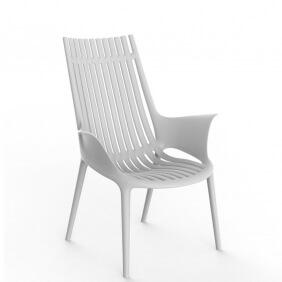 IBIZA - fauteuil plastique Revolution® (lot de 4)