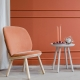 NAIVE LOW CHAIR - fauteuil velours