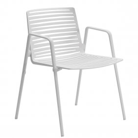ZEBRA - chaise avec accoudoirs