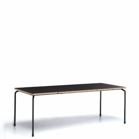 MASTER - table extensible Fenix noir de 1m40 à 1m90