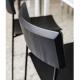 MITO - chaise en chêne et métal noir (lot de 2)