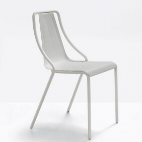 OLA - chaise en métal (lot de 2)