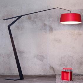 GRUS - lampadaire orientable structure graphite