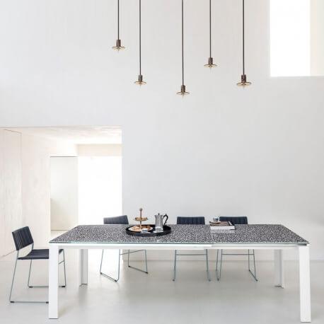 MARCOPOLO - table extensible 1m60 à 2m50