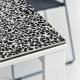 MARCOPOLO - table extensible mosaïque 1m60 à 2m50