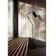 DROID - lampadaire métal noir H151 cm