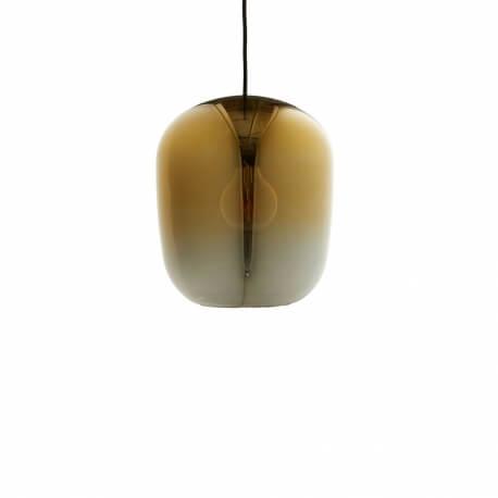 OMBRE - suspension en verre doré