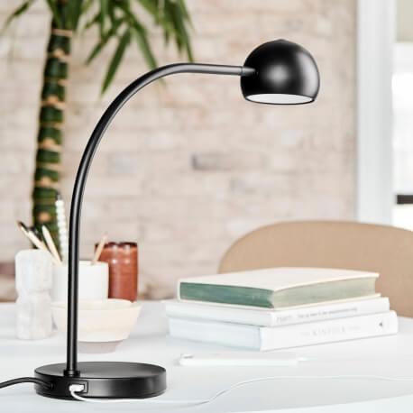 BALL - lampe de table tactile avec port USB et variateur