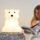 lampe pour enfant ours polaire NANUK H40 cm