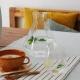 RARE - carafe 1.2L en verre soufflé à la main