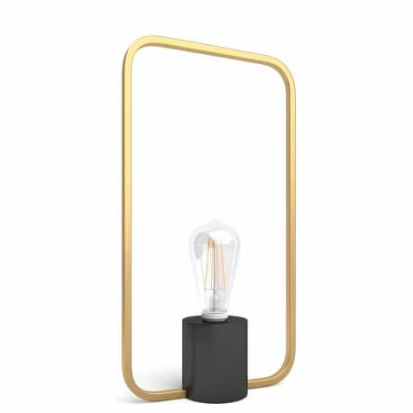 VENUS LOW - lampe de table en laiton H 23 cm