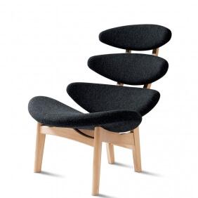 CORONA CLASSIC EJ 5 - fauteuil tissu Mood