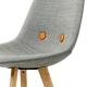 EYES WOOD EJ 2 - chaise tissu remix