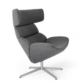ASKO EJ 111 - fauteuil pivotant en laine Tonica Kvadrat