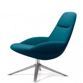 UMA EJ 10 - fauteuil rotatif tissu Divina 3