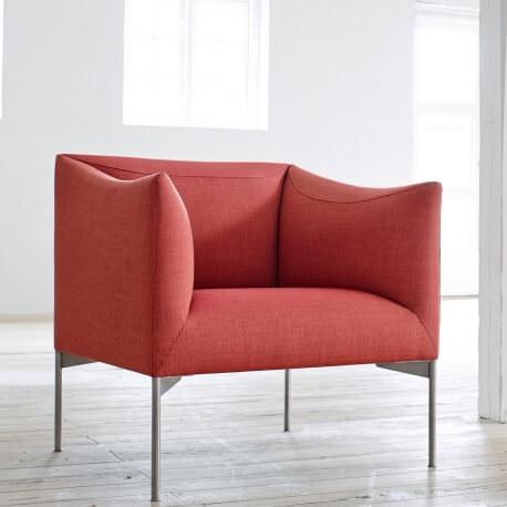 BOW EJ 485 - fauteuil en tissu Remix