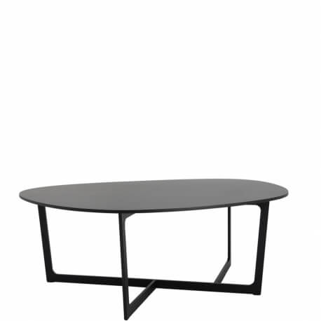INSULA EJ 195 - table noire 1m60 x 1m95