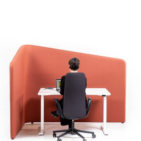 BUZZISHIELD HOOK WEDGE - paravent acoustique H150 cm