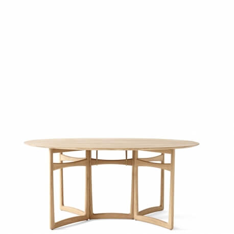 DROP LEAF HM6 - table pliante 163 x 142 cm